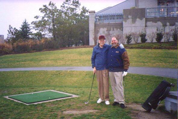 dad golf dec 1998