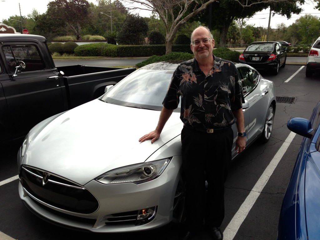 Tesla Model S Performance Sedan