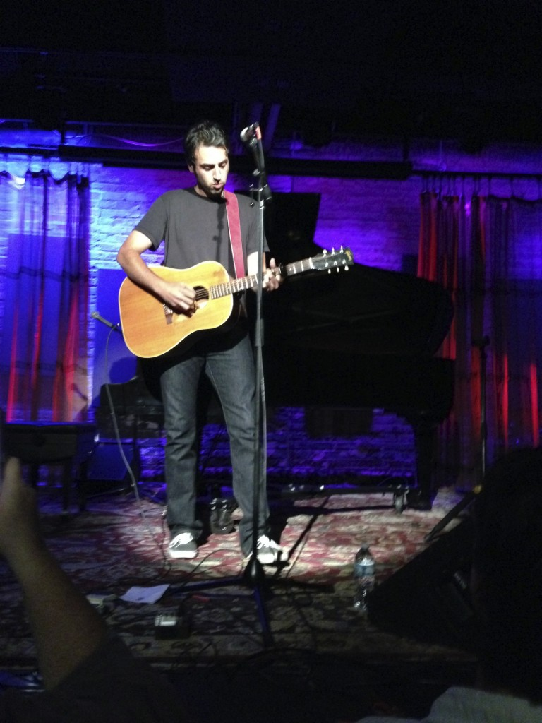 Ari Hest at SPACE