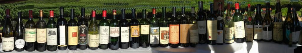 31 Wine line up