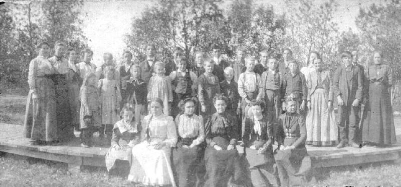School for the blind, Gary SD c1895