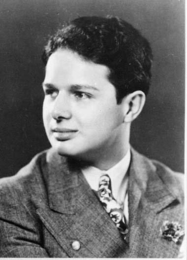 Harry Rae Bouett (shown in 1942) was Marjorie's cousin.