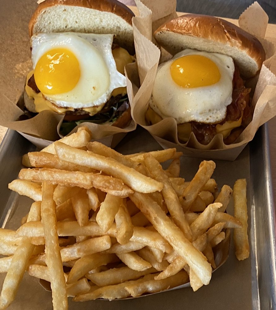 BNG Burger And Kimchi Burger