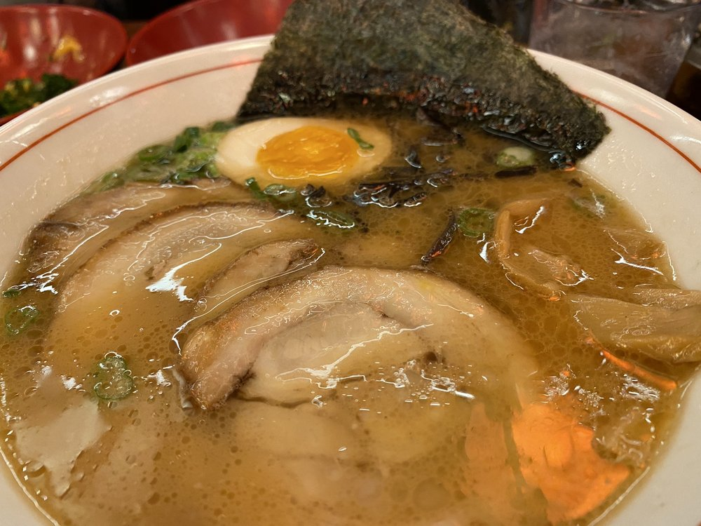 Tonkotsu Ramen with pork loin